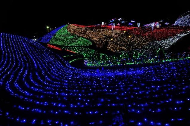Illumination in MANNOU Park