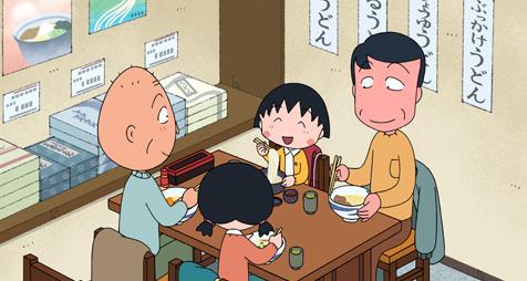 ちびまる子ちゃんが香川県にやってきた!!!