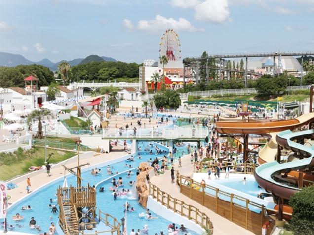 【レオマワールド】中四国最大級のリゾートプール「レオマウォーターランド」 ※7月22日OPEN予定