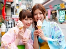 ソフトクリームが多いこんぴらさん参道