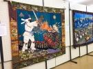 ACT琴平で「布アート作品展」が開催されています!