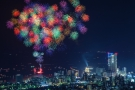 8,888発の発もの花火が打ちあがる、13日花火大会「どんどん高松」