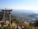 高屋神社「天空の鳥居」