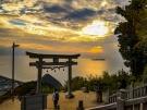 「開運×絶景スポット」 高屋神社 天空の鳥居