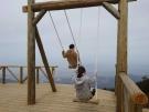 【雲辺寺山頂公園】天空のブランコで絶景も堪能♪