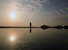 日本のウユニ塩湖【父母ヶ浜】マジックアワーに映え写真撮影♪