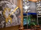 大迫力の「金毘羅ねぷた」の錦絵を桜の抄で展示しています!