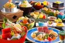 期間限定・美食会席~牛ロース・さわらのポワレ・平木貝のミックスグリル食べ比べと鰆唐揚げなど